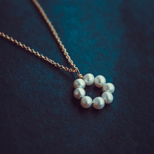Pearl Necklace Gold Filled Chocker Vintage Jewelry Minimalism Charm Necklace Bijoux Femme Boho Necklace for Women Collier