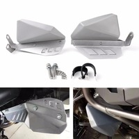 Areyourshop Motorcycle Feet Fender Cover Mudguards Feet Protection For BMW R 1200 GS ADV ABS Plastic