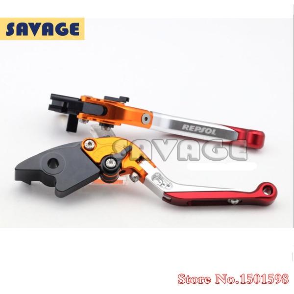 Special CNC Adjustable Folding Extendable Brake Clutch Levers For HONDA CBR250R 2011-2013, CBR300R 2014, CBR500R 2013-2014 billet new alu long folding adjustable brake clutch levers for honda cbr250r cbr 250 r 11 13 cbr300r 14 cbr500r cb500f x 13 14