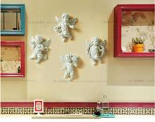 European-style small angel wall decoration creative pendant household living room