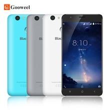 Blackview E7S MT6580 смартфон Quad Core Android 6.0 Мобильный Телефон 5.5 7-дюймовый IPS HD 2GB16GB 8MP GPS 3 Г сотовый телефон Отпечатков Пальцев ID