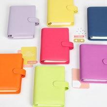 Hot Koop Dokibook Notebook Snoep Kleur Cover A5 A6 Losbladige Tijd Planner Organizer Serie Persoonlijke Dagboek Dagelijks Memo