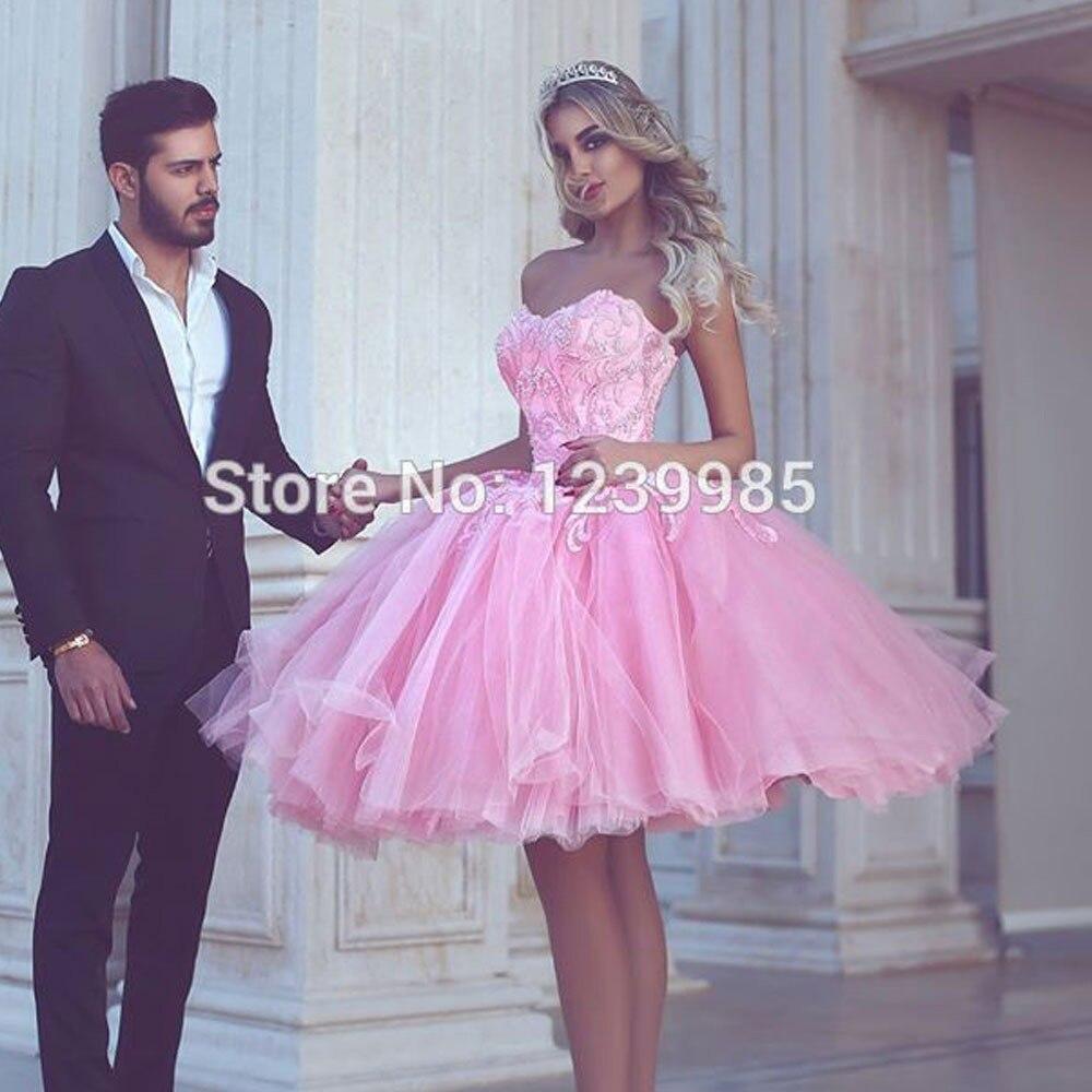 82232dc32 Vestido de fiesta Rosa vestido de fiesta vestidos de tul de noche fiesta  dijo Mhamad apliques