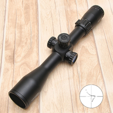 Discovery VT-T 4.5-18X44SFVF White Leters Reticle Side Shooting Hunting Riflescope Rangefinder  For Airsoft Air Guns