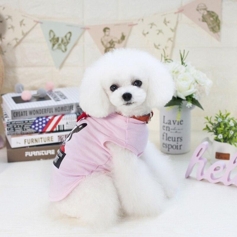 Новый сезон: весна–лето популярные собака жилет пальто одежда с рисунком собаки от S до xxl собака пальто Дешевые Одежда для собак