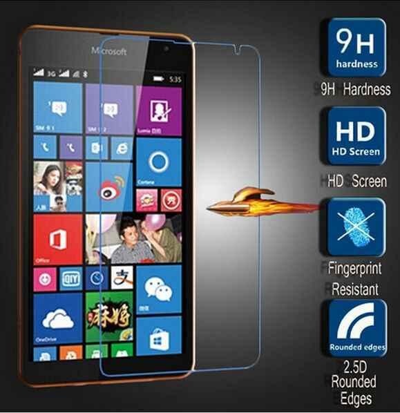9H الزجاج المقسى ل مايكروسوفت lumia 535 650 640 630 635 XL 640 950 XL 0.28 مللي متر واقي للشاشة ل نوكيا 930 950 540X2 فيلم