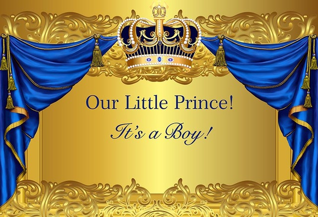 Mehofoto Prince Photography Background Baby Shower Royal
