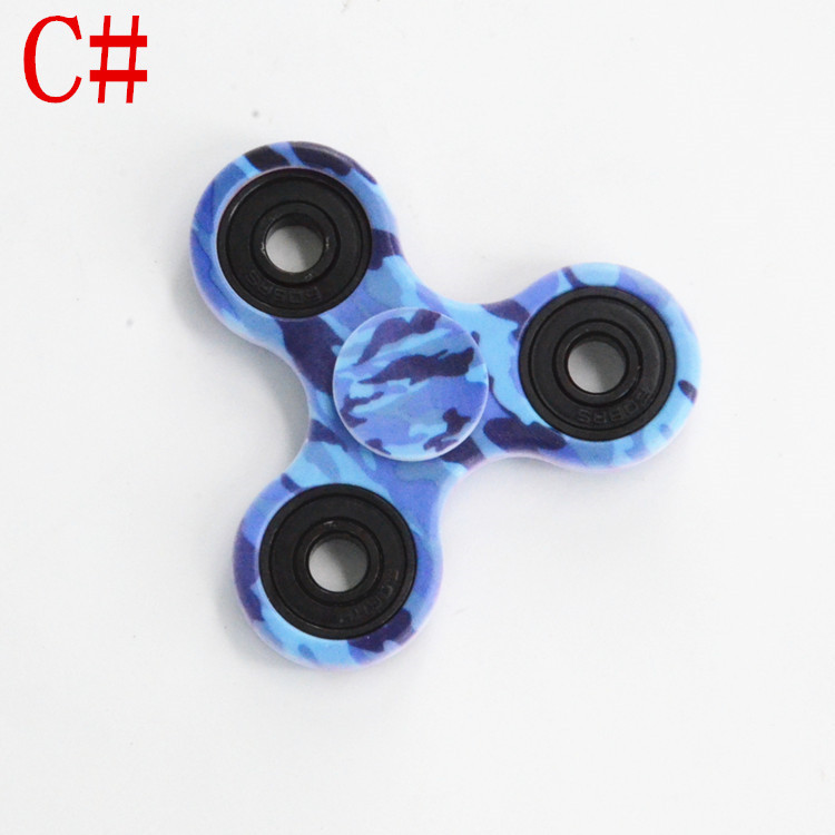 Multi Colors Finger Spinner Triangle Gyro Fidget Hand Spinner Plastic EDC Sensory Autism ADHD Anxiety Stress