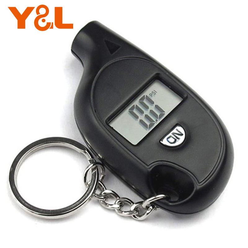 2-150PSI Diagnostic Tool Digital LCD Display Plastic Tire Air Pressure Gauge Vehicle Motorcycle For Audi Car Tester