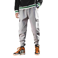 2019 sell well summer new style Men's black and gray Harlan sports pants Jogging pants Punk casual pants Street dance pants