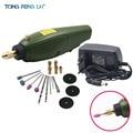12V DC шлифовальный инструмент, мини dremel дрель, электрический шлифовальный набор для фрезерования, полировки, сверления, резки, гравировки, Ак...