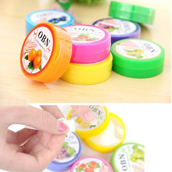 5pcs 1pcs 32pads Fruit Flavor Uv Gel Nail Polish Remover Pads Cleanser Tools Removal Cotton Paper In From Beauty