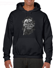 цена на Fashion Men Free Shipping Alchemy Gothic SCAR BONES Skull Tattoo Gun SHIRT, Black Mens/Unisex BT868 Hoodies Sweatshirts