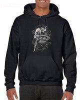 Fashion Men Free Shipping Alchemy Gothic SCAR BONES Skull Tattoo Gun SHIRT, Black Mens/Unisex BT868 Hoodies Sweatshirts