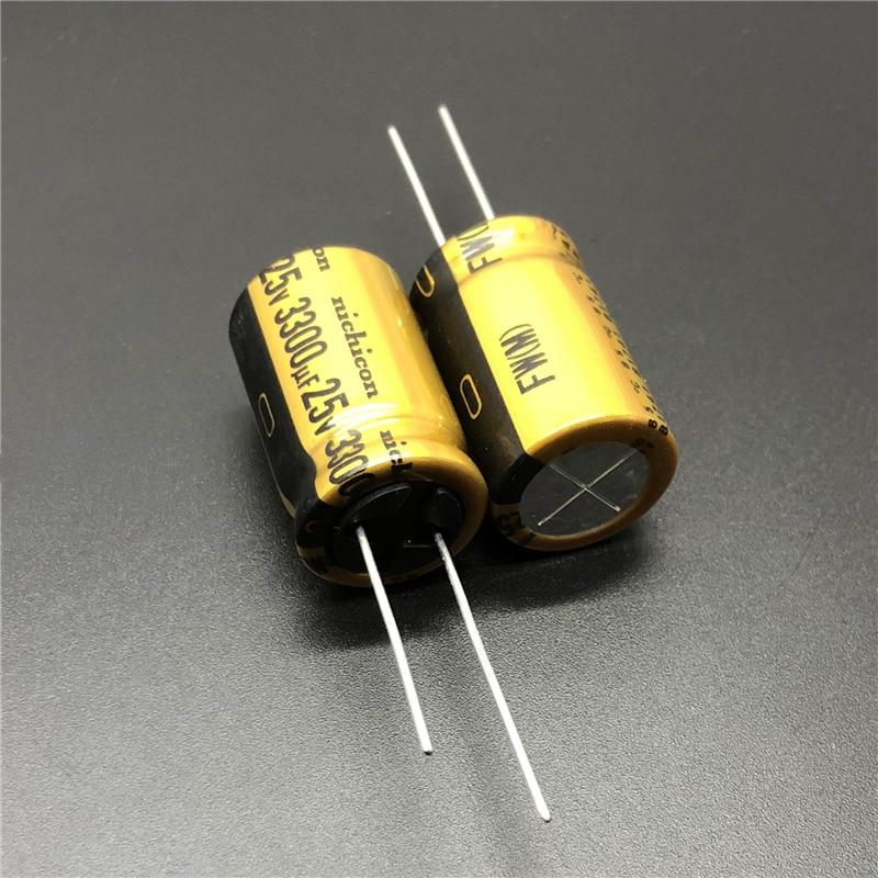 5pcs 3300uF 25V OST RLP 16x20mm Low ESR 25V3300uF Electrolytic Capacitor