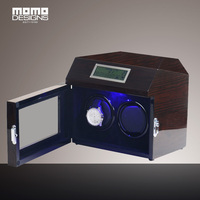 Automatic Wathc Winder 2 Wooden Watch Box High Gloss Wood Watch Winder Chain Winder Box Reel