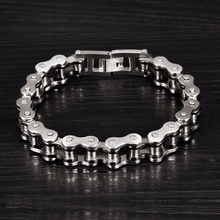 Motorcycle Chain Bracelet [0.51inc]