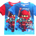 Summer Children Boy Clothes Lego T Shirts For Boys Teenage Boys Clothing Children Tops Ruffle Raglan Shirts Monya