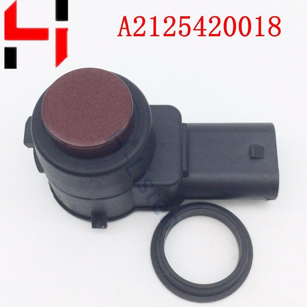 Kiváló minőségű parkolószenzor PDC 2125420018 A2125420018 a W169 W245 W204 W212 W22 A B C S E SLK CL CLS osztályú vörös szín