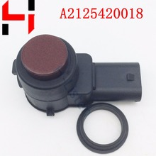 High Quality Parking Sensor PDC 2125420018 A2125420018 for W169 W245 W204 W212 W22 A B C S E SLK CL CLS Class Red color