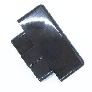 Image 4 - Coque noire pour ELM327, 10 pièces, prise OBD2/OBDII, ELM 327, étui uniquement, livraison gratuite