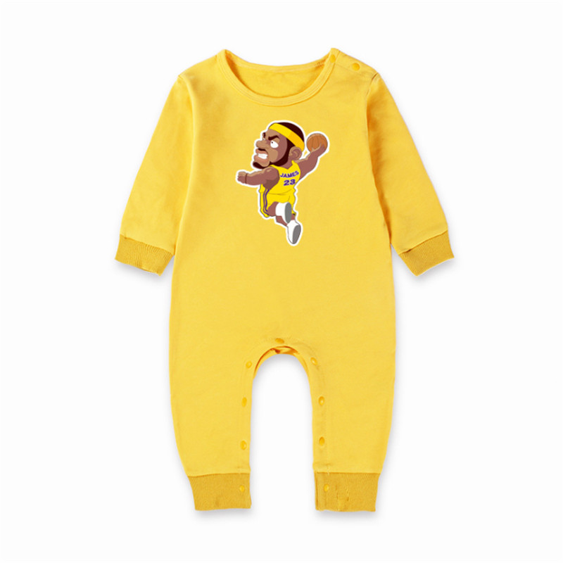 Newborn Unisex Baby Girl&Boy Long Fall Sleeve Winter Basketball Clothing Baby Costume Clothes Ropa Bebe Baby Girl Romper Jersey winter baby romper newborn boy girl costume baby clothes unisex long sleeve romper newborn jumpsuit