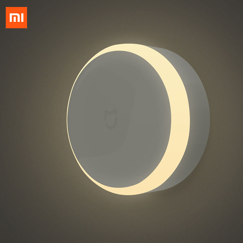 Xiaomi Automatic Night Light with Motion Sensor Mijia Infrared Sensor and Photosensitive LED lighting Original 2017 New