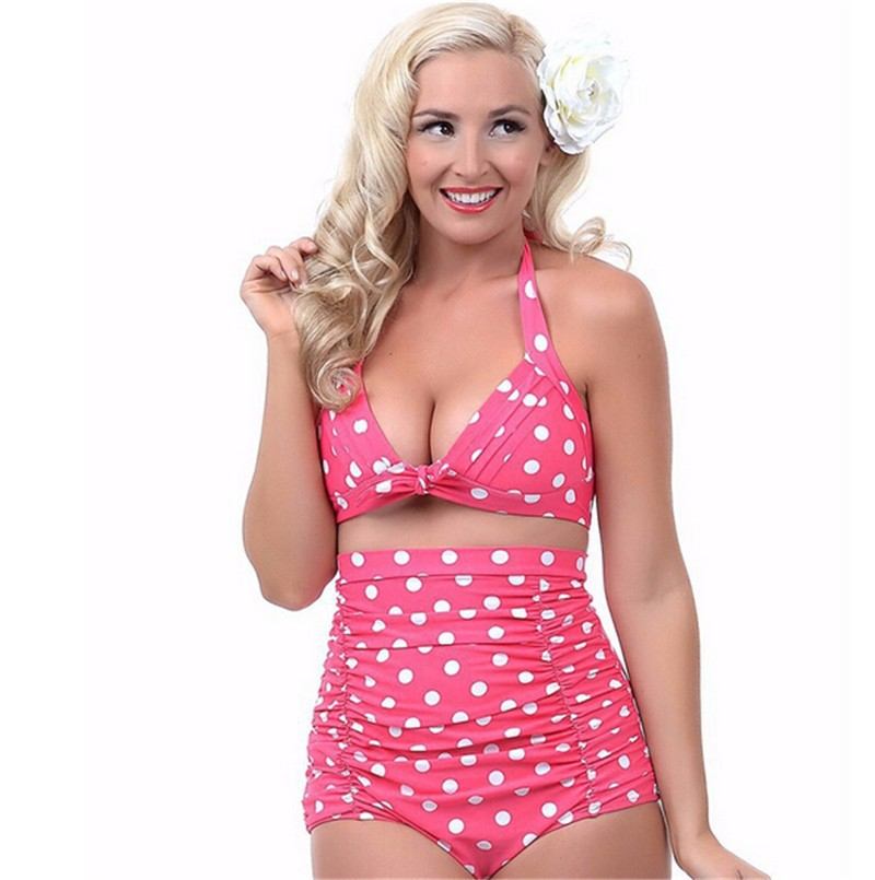97194661b0a65 Push Up High Waist Plus Size Swimsuit Bikini Various Styles