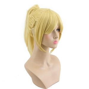 Image 1 - Hsiu alta qualidade mordred cosplay peruca fate/apocrypha traje jogar mulher perucas adultas dia das bruxas anime jogo cabelo