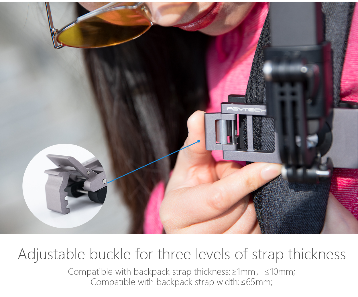 Hat Belt Backpack Clip Clamp Mount for GoPro Hero 6 Hero 5 Hero 4 Hero 3 Action Camera Accessories 360 Degree Rotarydropship