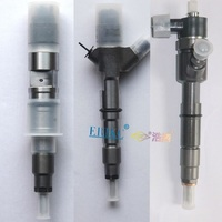 ERIKC Car Parts Injector 0445120102 Common Rail Injector 0445 120 102 DFM 4102TCI Complete Auto Diesel