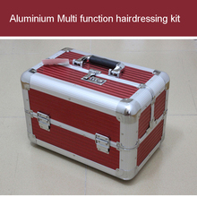 aluminium tool case Multifunction hairdressing kit manufacturer promotions Portable storage box cosmetic bags free shipping free shipping 1piece lot top quality 100% aluminium material waterproof ip67 standard aluminium box for electronic 111 64 37mm
