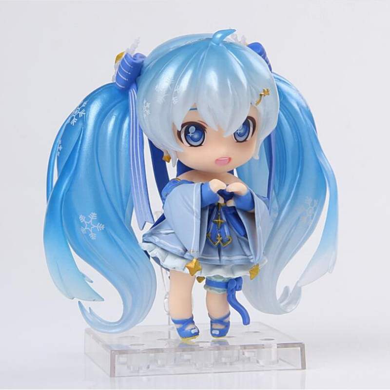 New hot toys nendoroid anime figures toy figma Hatsune Miku Collection 10CM gift for children action & toy figures action figure