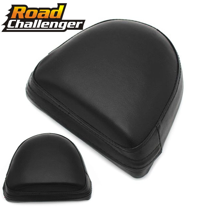 Sissy Bar Backrest Black Cushion Pad Universal Motorcycle For Harley For Suzuki Black Motorcycle Accessories