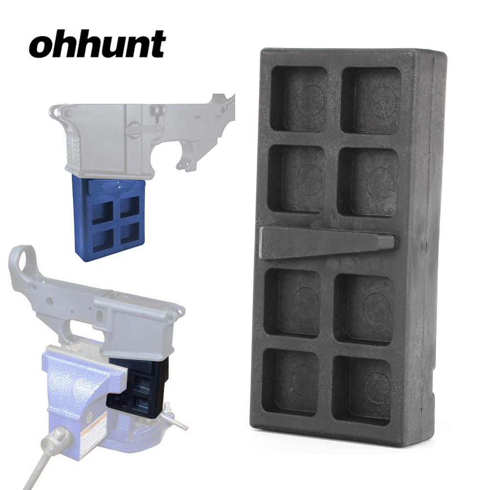 Outdoor Tool 223 5.56 Gun Smith Tool Vise Block For Clamping Ar15 Rifle Lower Receiver For Airsoft Hunting Accessories Warm And Windproof Pottery & Glass