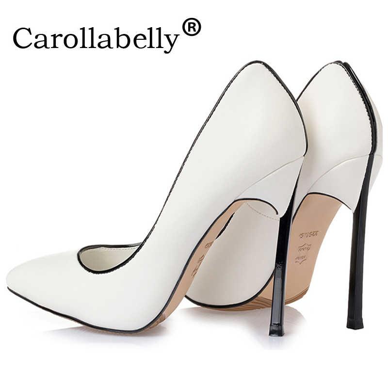 63a52f6ba Пикантные высококачественные женские туфли-лодочки свадебные туфли на  высоких каблуках (8 10 или 12