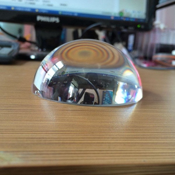 60mm 50pcs Dome Paperweight Magnifying Glass Paperweight Clear Paperweight Glass As Desk Decoration