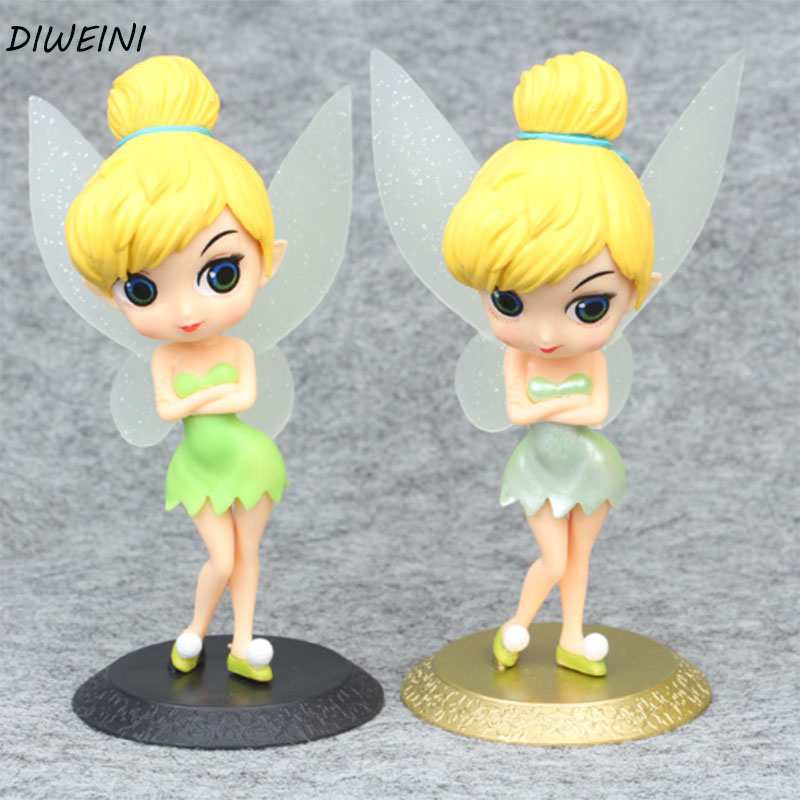 1 Pc Cute Tinker Bell Figures Princess Tinkerbell Fairy Beauty Model Toys елка fairy bell 185 см