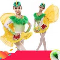 Happy Valley achte Xiao Xiao stil kinder dance kleidung mädchen kostüme küken vogel tier kleidung
