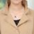 XL 4XL delgada cintura fajas Foso de las mujeres 2017 de La Moda de color sólido Cuello Alto más el tamaño de las señoras abrigo largo en invierno