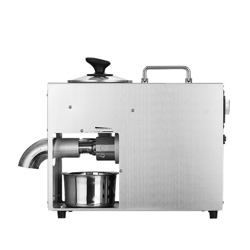 BEIJAMEI high efficiency oil making electric mini oil press machine commercial peanut, walnut kernel, almond oil pressing 110 240v commercial small oil press machine peanut sesame cold press oil machine high oil extraction rate cheap price