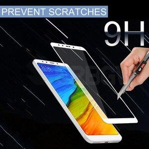 Image 4 - 9 H Gehärtetem Schutz Glas Für Xiaomi Redmi 5 5 Plus Volle abdeckung Screen Protector Für Redmi5 Plus Redmi5Plus sicherheit glas Film