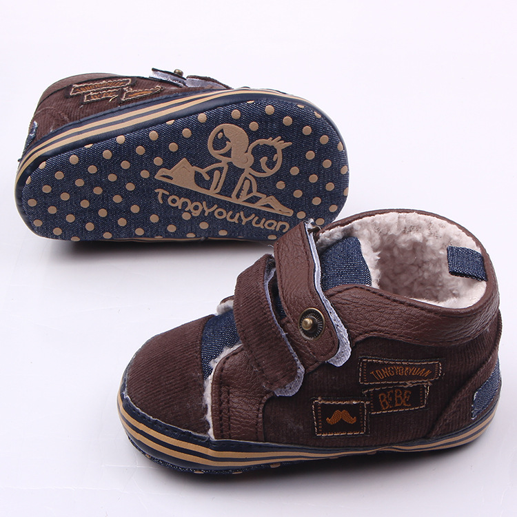 11-13 cm Winter Jungen Weiche Sohle Schuhe Warme Kinder Erste - Babyschuhe - Foto 6
