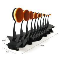 Desktop Makeup Brush Holder For 10 Pcs Toothbrush Brush Four Color To Choose Top Quality