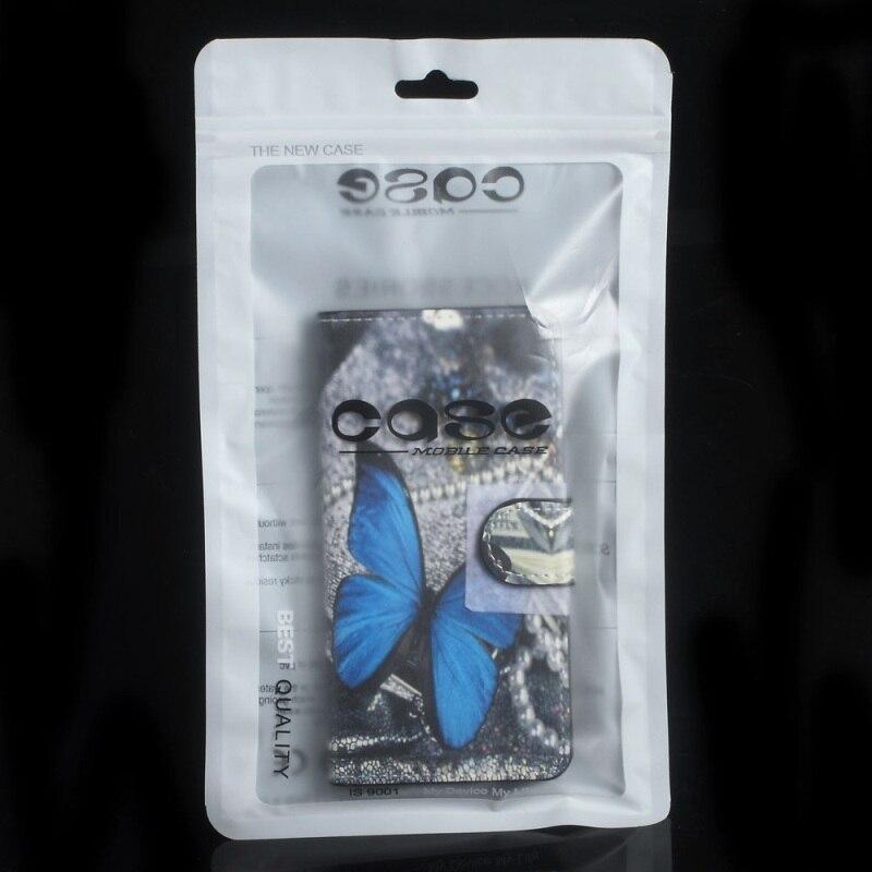 imágenes para 100 unids/lote ziplock bolso del paquete cubierta del teléfono para iphone 6s/6s plus cajas finas, Tamaño interno: 17.3x10 cm