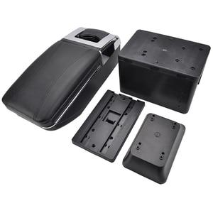 Image 4 - Universal Rotatable Top Car Center Centre Console Storage Box Armrest Arm Rest