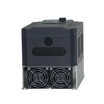 Convertisseur 1 Phase à 3 Phases | 5.5kw 220 V/380 V AC Fréquence Onduleur Et Convertisseur Sortie 3 Phases Ac Moteur Pompe à Eau Contrôleur/ac Lecteurs/convertisseur De Fréquence