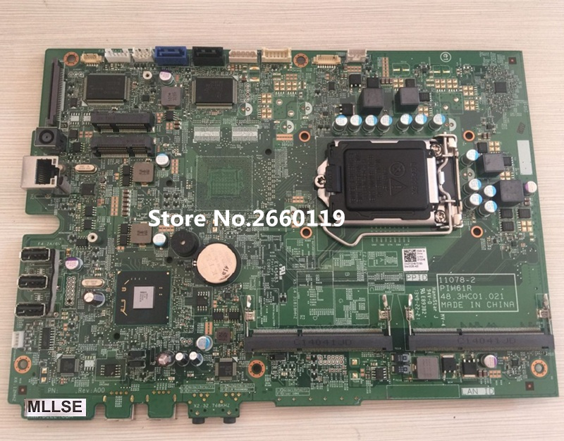 Desktop mainboard for AIO 2020 7C0H8 07C0H8 11078-2 PIH61R 48.3HC01.021 motherboard Fully tested 60 pe3vmb3000 a05 for asus et2400igts mainboard et2400igts desktop motherboard memory 2 channel with graphics fully tested