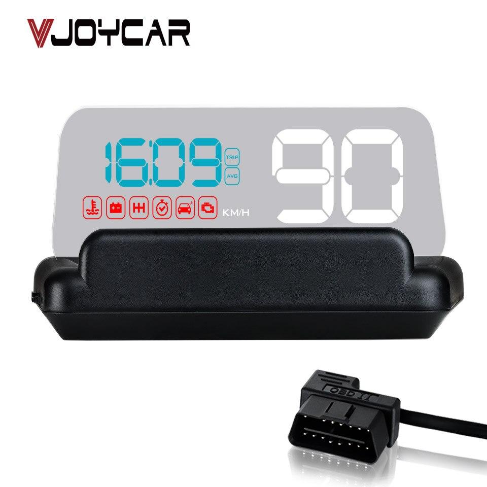 Оригинальный VJOYCAR C500 OBD2 Hud Head-Up Дисплей с зеркалом проецирования Цифровой автомобиль Скорость проектор бортовой компьютер расход топлива