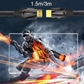 High Speed Premium black Mamba HDMI Cable V2.0 Male To Male 4K 3D 1080P For HDTV for XBOX for PS3 3M